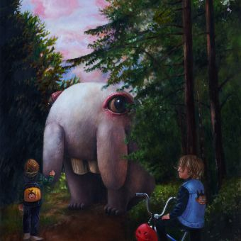 The Meeting (60x70)